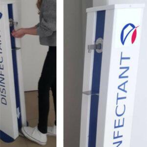 Kontaktlose-Hygienestation