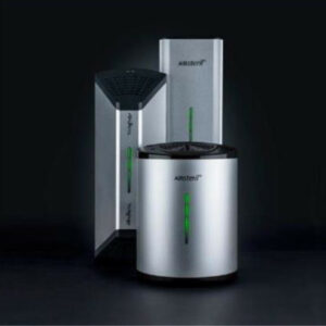 Luftreinigungsgeräte in drei verschiedenen Größen